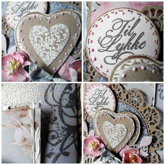 Sempelglede dt kort med florish heart