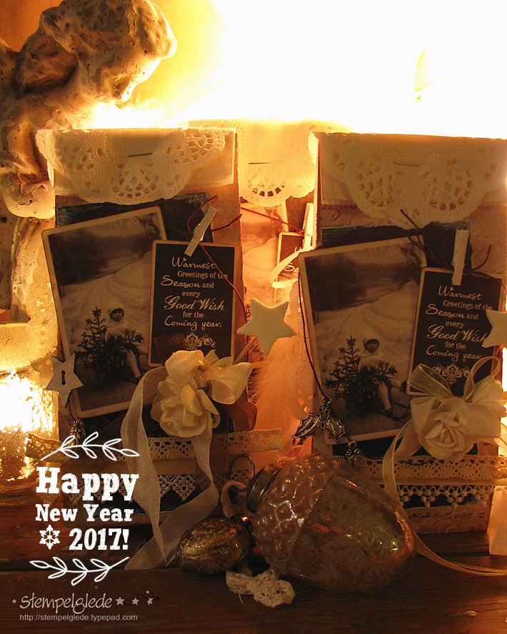 Happy New Year 2017 - Stempelglede