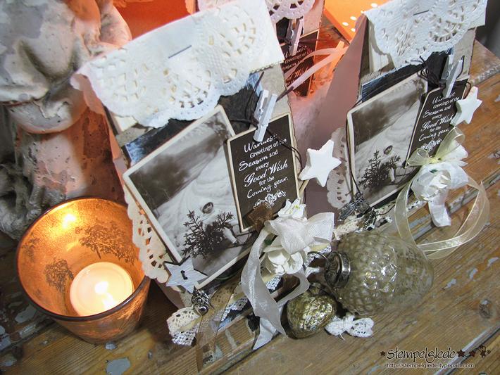 Christmas Gift Bags - Stempelglede