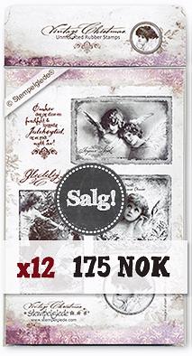 Stempelglede - Vintage Christmas - norsk
