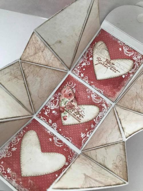 Veskekort | Handbag Card - by Stempelglede DT Member Hilde